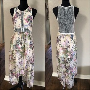 ASTR maxi lace dress
